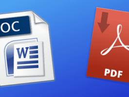 How to Convert PDF to Word (.doc format)