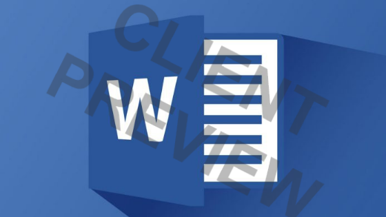 How to add watermark in Word files
