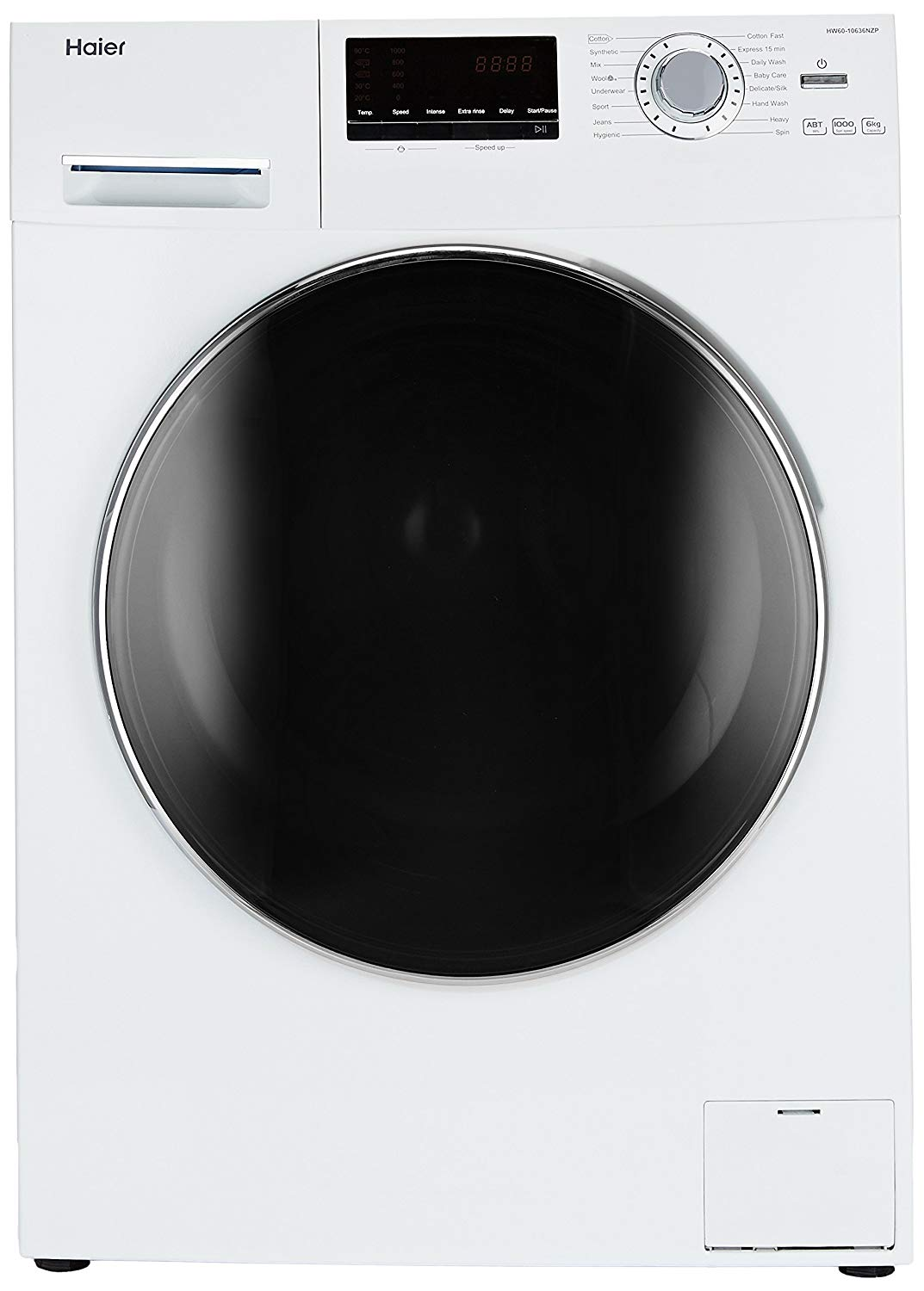 Haier 6 kg Fully-Automatic Front Loading Washing Machine