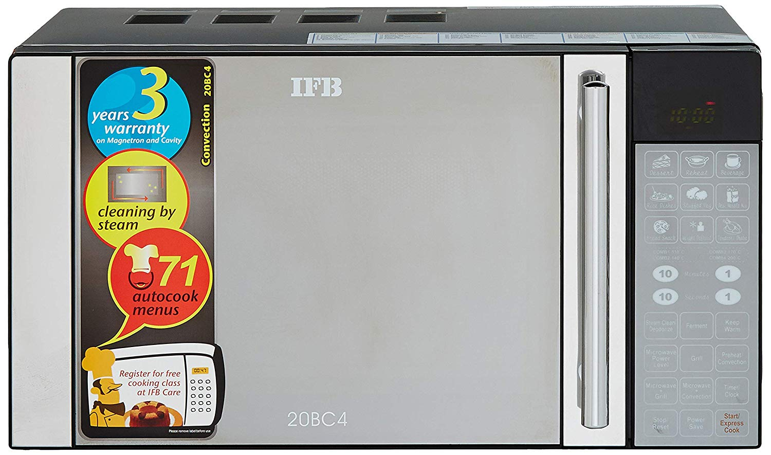 IFB 20BC4 20-Litre 1200-Watt Convection Microwave Oven