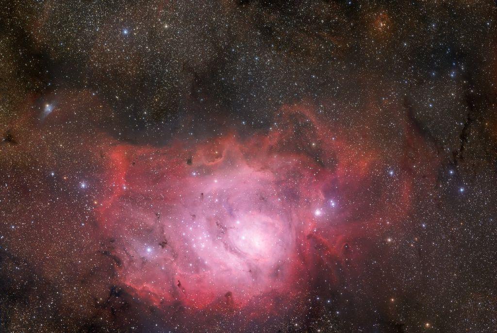 Lagoon Nebula in visible light