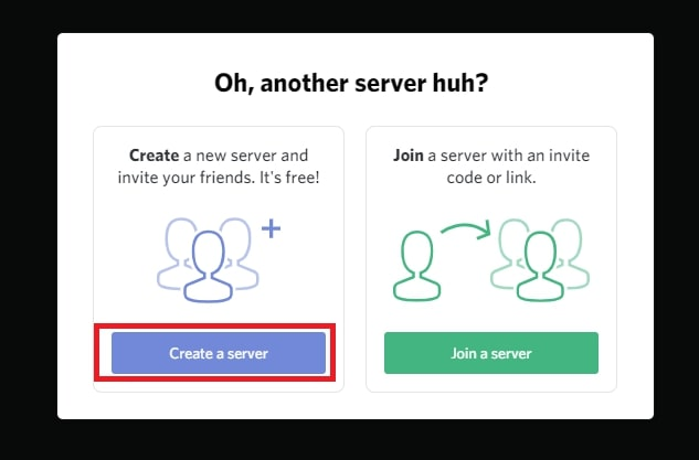 Creating your server on Discord 2