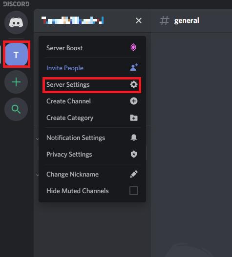 Delete a Server on Discord 1