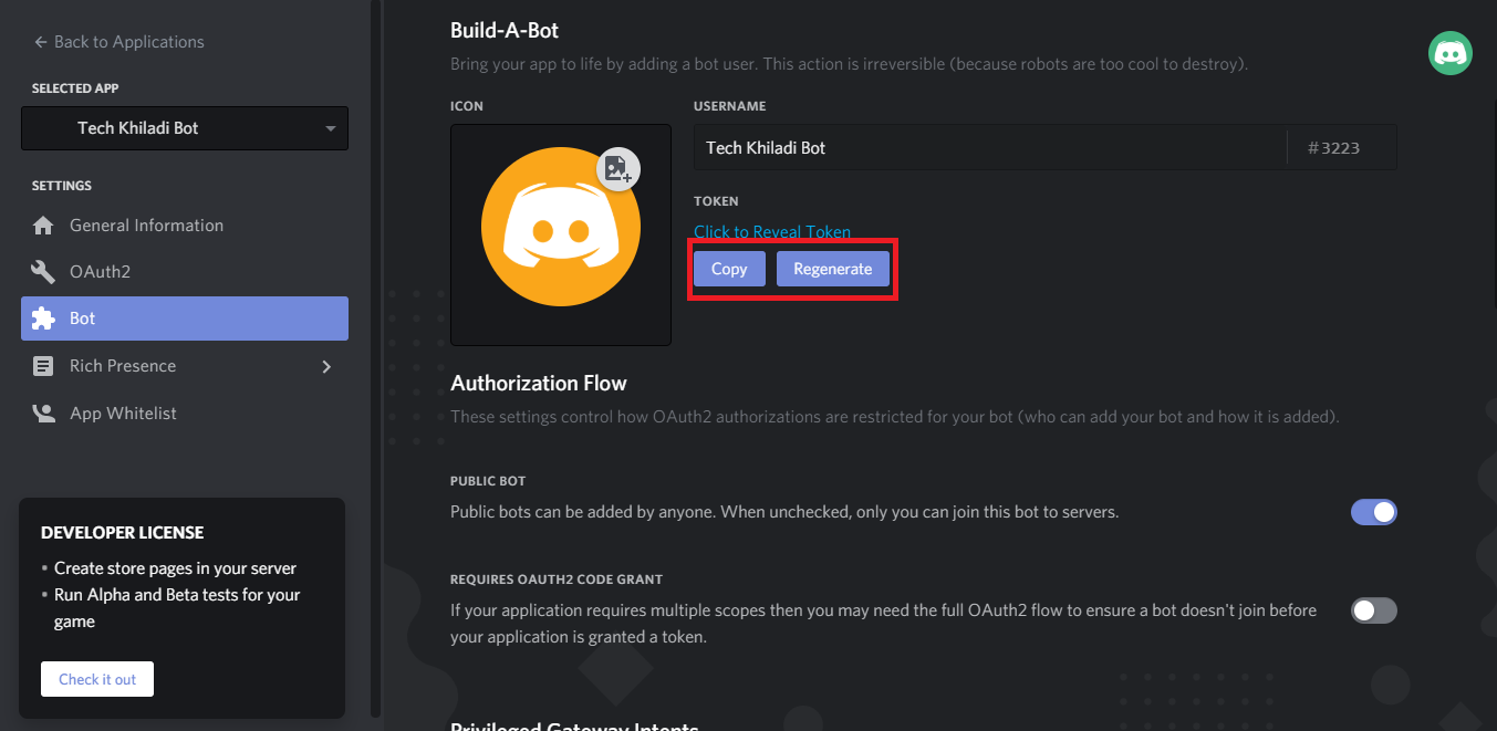 How to make bot on Discord 5