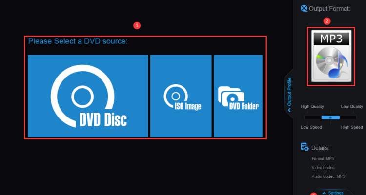 How to Extract Audio from DVDs 2